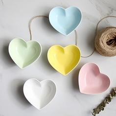 Heart Shape Porcelain Dessert Bowls