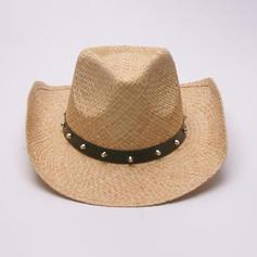 Hommes Le plus chaud Paille salée Chapeau de paille/Chapeau de cowboy