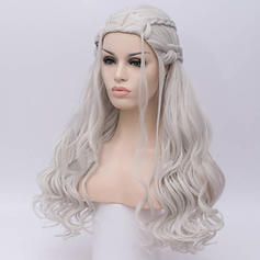 Loose Wavy Synthetic Hair Capless Wigs Game of Thrones Cosplay Wig Daenerys Targaryen Khalessi