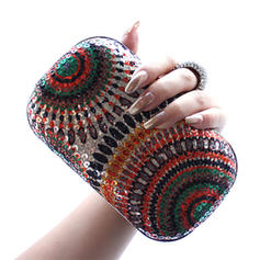 Anhänger Pailletten/Polyester Handtaschen