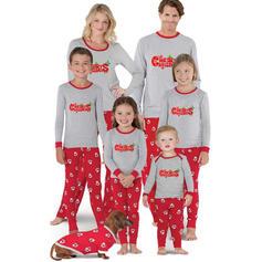 Santa Letter Family Matching Christmas Pajamas