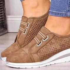 Kvinner PU med Spenne sko