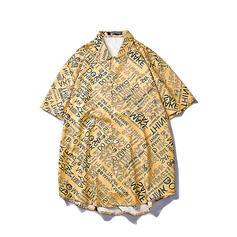 Pour des hommes Letter hawaïen Chemises de plage