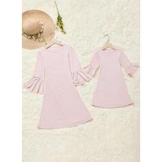 Maman et moi Solid Correspondant à Robes