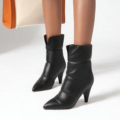Women's PU Stiletto Heel Ankle Boots With Others shoes