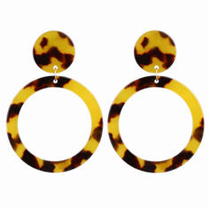 Fashionable Alloy Acrylic Women's Earrings