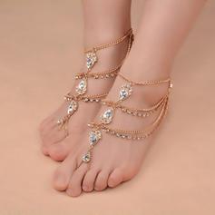 Único Liga com Strass Senhoras Corpo de jóias (Vendido em uma única peça)