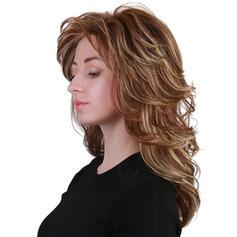 Sytě Modrá Mix pravých vlasů Paruky z pravých vlasů 150g