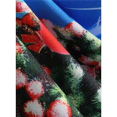 A-линии Длина колена марочный/рождество/Вечеринка/элегантный Платья
