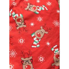 Deer Rodzinne Dopasowanie Świąteczne piżamy