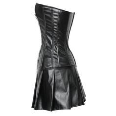 Leather Plain Corset