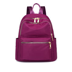 Solid Color Nylon Backpacks