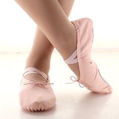 Donna Balletto Ballerine Tela Balletto