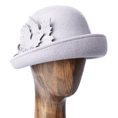 Ladies ' Moda/Uroczy/Fantazyjny Wełna Floppy Hat