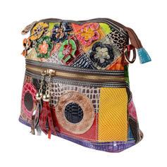 À la mode/Colorful/Style bohémien/Tressé Cartable/Sacs à bandoulière/Sac en bandoulière