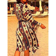 Floral Bohemian Cover-ups Swimsuits