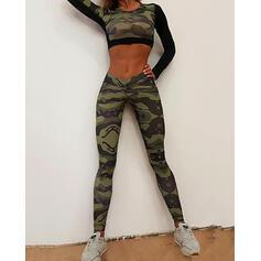 Print Long Sexy Skinny Sporty Leggings