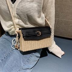 Unique Straw Crossbody Bags/Shoulder Bags