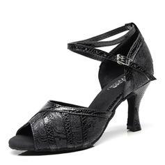 Women's Leatherette Latin Dance Shoes