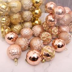 Boże Narodzenie Okrągłe PVC Dekoracje świąteczne