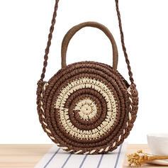 Bohem tarzı/şeritlenmiş/El yapımı Bez Çantalar/Atlet çantaları/Omuz çantaları/Plaj Çantaları/Serseri çantası