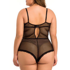 Polyester Modal Lace Teddy