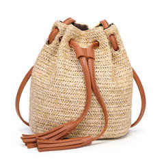Special Straw Cross-Body Bags