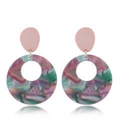 Stylish Shell Alloy Women's Earrings