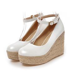 De mujer Cuero Tipo de tacón Salón Cerrados zapatos