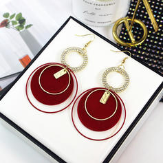 Unique Shining Alloy Silver Plated Earrings Christmas Jewelry