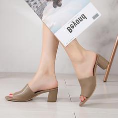 Femmes PU Talon bottier Chaussons avec Autres chaussures