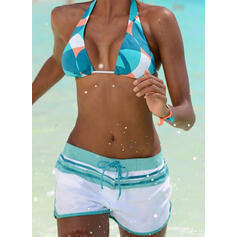 Vita Alta A bikini Gli sport Stile vintage Bikinis Costumi Da Bagno