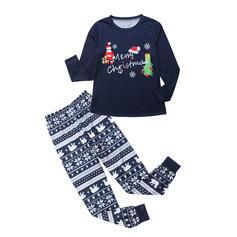Santa Letter Print Family Matching Christmas Pajamas