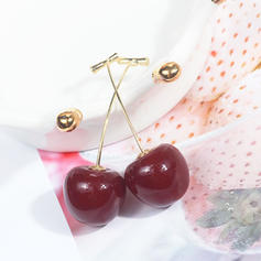 Stylish Alloy Girls' Fashion Earrings (Sold in a single piece)