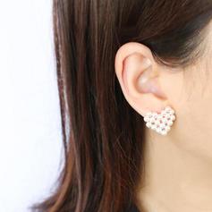 Lovely Pearl Women's Earrings