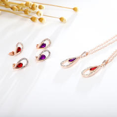 Gorgeous Sexy Alloy With Rhinestone Imitation Stones Jewelry Sets