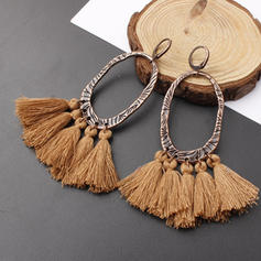 Alloy With Tassels Women's Earrings