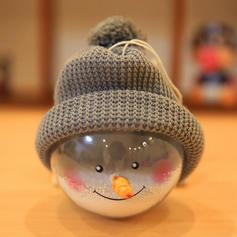 Сніговик Різдво Підвішування ПВХ Різдвяний декор