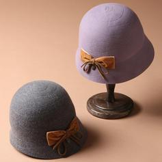 Señoras' Simple/Exquisito Acrílico Bombín / cloché Sombrero