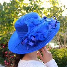 Ladies ' Elegancki Organza Floppy Hat