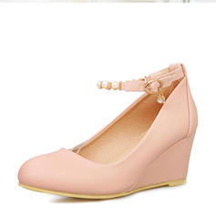 Dla kobiet PVC Obcas Koturnowy Koturny obuwie