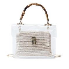 Transparent PVC Clutches/Beach Bags
