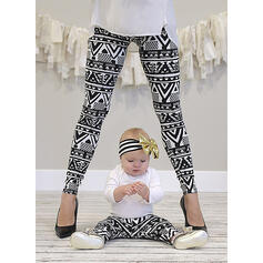 Mommy and Me Striped Matching Pants