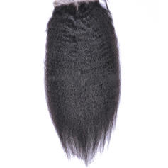 "4""*4"" Straight Human Hair Closure (Sold in a single piece)"