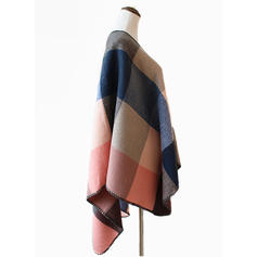 Geometric Print attractive/Cold weather Wraps