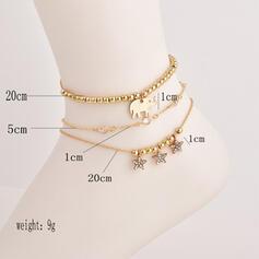 Legering Strand sieraden Enkelbanden (Set van 3)