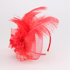 Ladies ' Fancy Kambriske/Fjer Fascinators