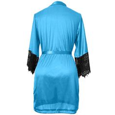 Polyester Patchwork Robe