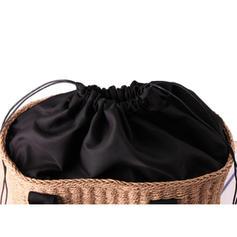 Braided Paper Rope Tote Bags/Bucket Bags