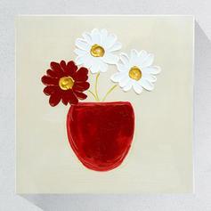 Modern Rechthoek florale / botanische schilderijen